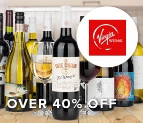 40% off Virgin Wines