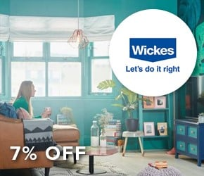 7% off Wickes