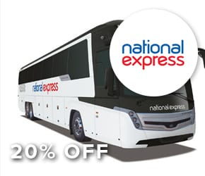 20% off National Express