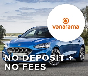 No deposit + no fees with Vanarama